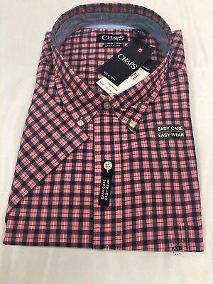 NWT $59 CHAPS Mens Big and Tall Long Sleeve Shirts XLT 2XB 2XT 3XB 3XT 4XB
