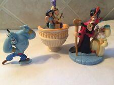 Disney Aladdin PVC Figures Hard To Find Sultan Jafar Jasmine Lot Cake Toppers