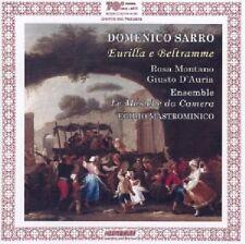 Domenico Sarro Eurilla e Beltrame Rosa montano Giusto D'Auria Cd Mint  2007