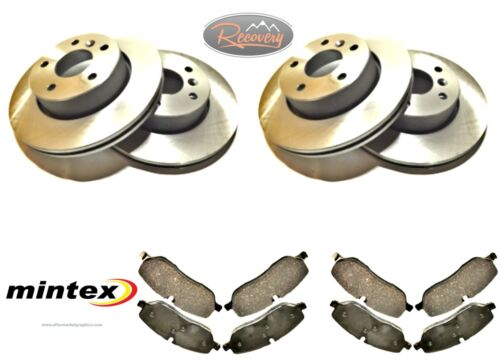 BDM06 LAND ROVER DISCOVERY 3//4 TDV6  FRONT and REAR DISCS AND PAD SET