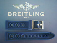 QUALITY 22MM BLUE OCEAN RACER WATCH BAND WATCHBAND BRACELET STRAP FIT BREITLING