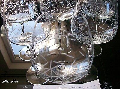 NEU /& OVP Rosenthal Studio-Line Tac O2 Glas 6 x Weisswein Gross 26,5 cm 0,58 l