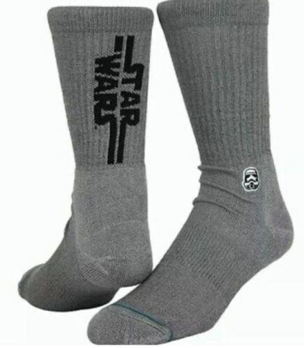 STANCE Socks Tilley/'s Classic Crew Star Wars Solid Storm Trooper