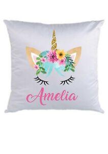 Personalised-Cushion-gift-birthday-cover-40X40cms-unicorn-lashes