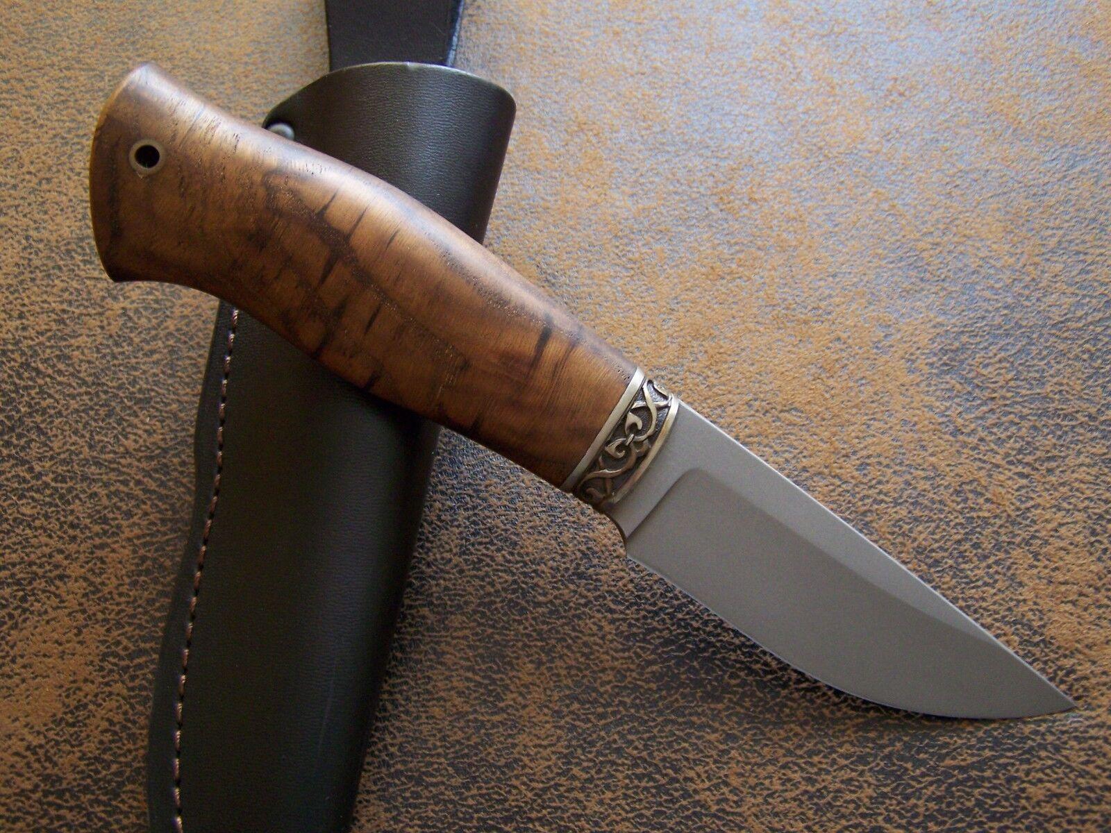 SLON KNIVES Custom Messer Outdoor /  Jagdmesser  / aus CPM H12MF Stahl HRC-62 NEU b4d81c