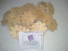 50 x Knüpfstern zum knüpfen von Schnüren wie Knüpfblume Händlerangebot / Schulen