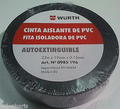 Cinta aislante selbstverschweißendes pannenband impermeable 19mm x 10m negro