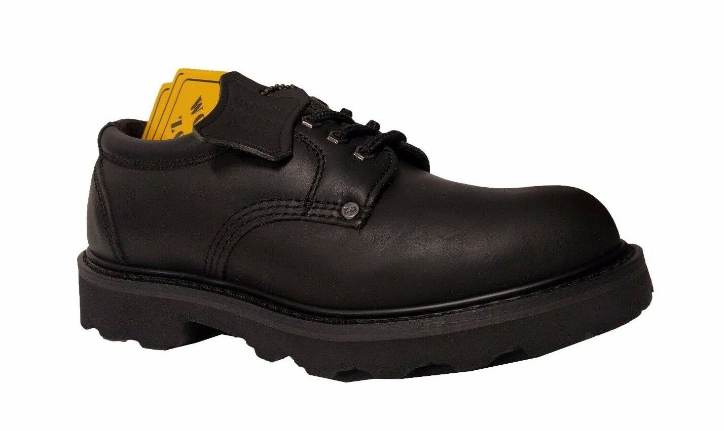 Work Zone N405 Black 4  Mens Work shoes