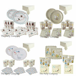stylish baby shower partytableware kits plates napkins amp more