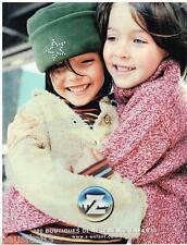 PUBLICITE ADVERTISING 105  2002  Z  vetements enfants