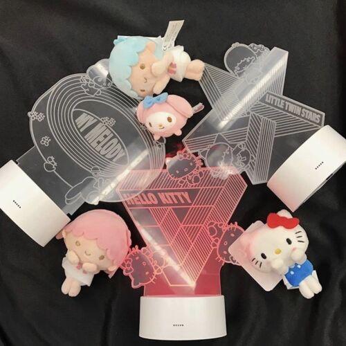 Little Twin Stars LED night lights! My Melody 2017 Rare NEW Sanrio Hello Kitty