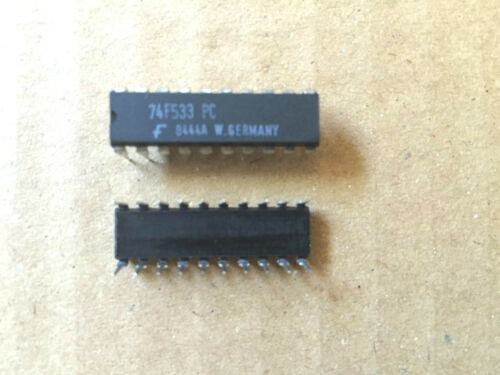 90 pcs 74f533pc circuit intégré dip20 vintage 35,00 €