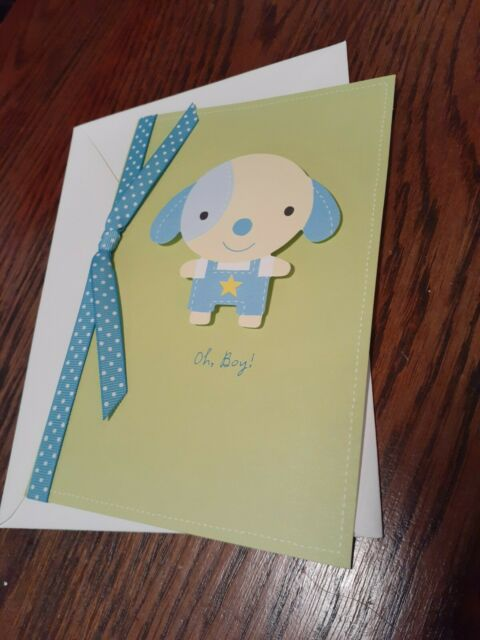 Hallmark Card New Baby Boy or Girl.