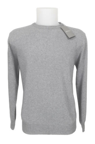Sweater Girocollo 54 Lana Crewneck Grigio Wool Fenzi Grey 52 Man Maglione wOqx6ZHH7