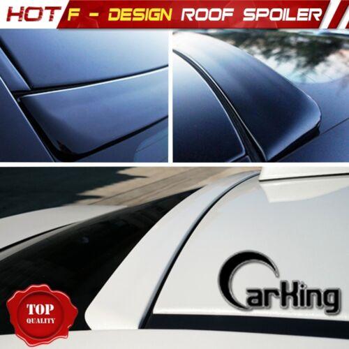 UNPAINTED F-Design Window Roof Spoiler for Honda Accord 9th 4-Door Sedan 13+