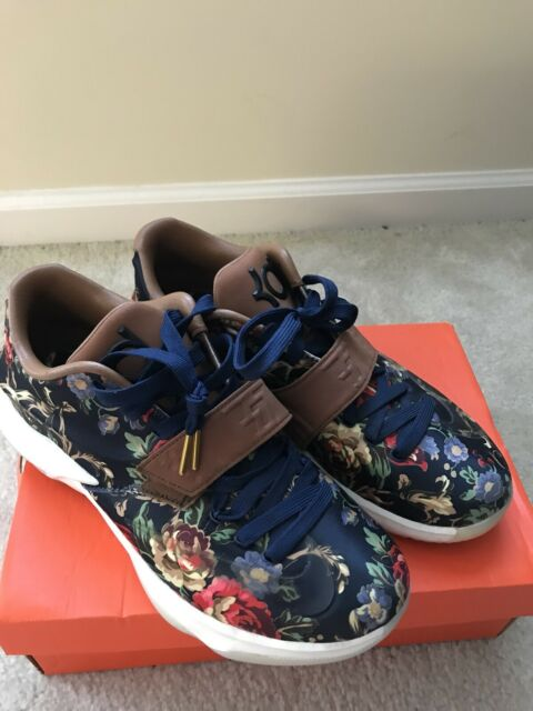 uk availability 1853e 68792 Nike ZOOM KD 7 VII EXT FLORAL QS Kevin Durant 726438-400 Mens size 10.5