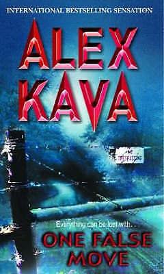 1 of 1 - One False Move (MIRA), Kava, Alex | Mass Market Paperback Book | Acceptable | 97