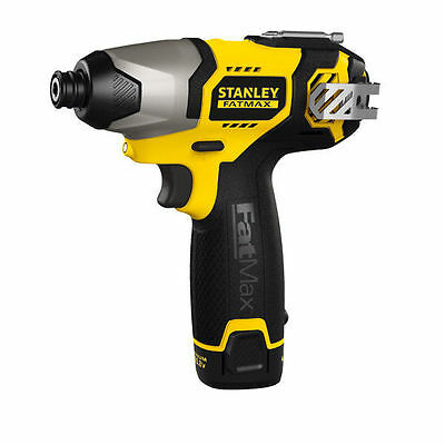 ❤ Stanley® FatMax Li-Ion Impact Cordless Drill Driver - 10.8V 1.5Ah FMC040LA