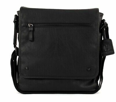 Leonhard Heyden Cross Body Bag Cult Messenger M Black Volume Grande
