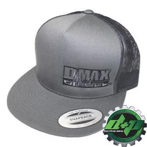 f5644f0d411 DMAX Diesel flat bill snap back trucker cap hat ball summer mesh ...