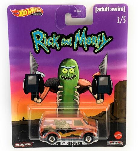 "2020 Hot Wheels 1:64 POP CULTURE ADULT SWIM /""Rick /& Morty/"" BUS DLB45-946G"