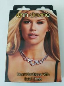 Ann-Devine-Heart-Rhinestone-Necklace-Exotic-Dancer-Club-Wear