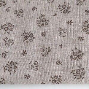 Price per 1//2 metre Cotton Fabric Craft Natural LINEN