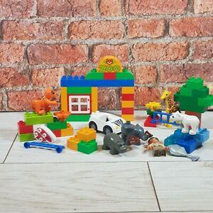 Lego-Duplo-6136-Mon-Premier-Zoo-Set-Tigre-elephant-Girafe-Ours-Polaire-Building-Toy