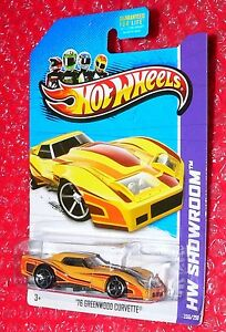 Hot Wheels HW Showroom 76 Greenwood Corvette 208//250