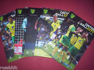 2013-14-NORWICH-HOME-PROGRAMMES-CHOOSE-FROM