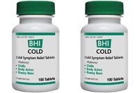 Medinatura Bhi Cold 100 Tabs(paks Of 2)