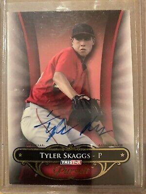 2010 Tyler Skaggs 80 Tristar Pursuit Auto Rc Rookie Angels Quantity Ebay