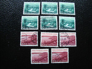 Switzerland-Stamp-Yvert-and-Tellier-N-563-x6-564-x5-Obl-A15
