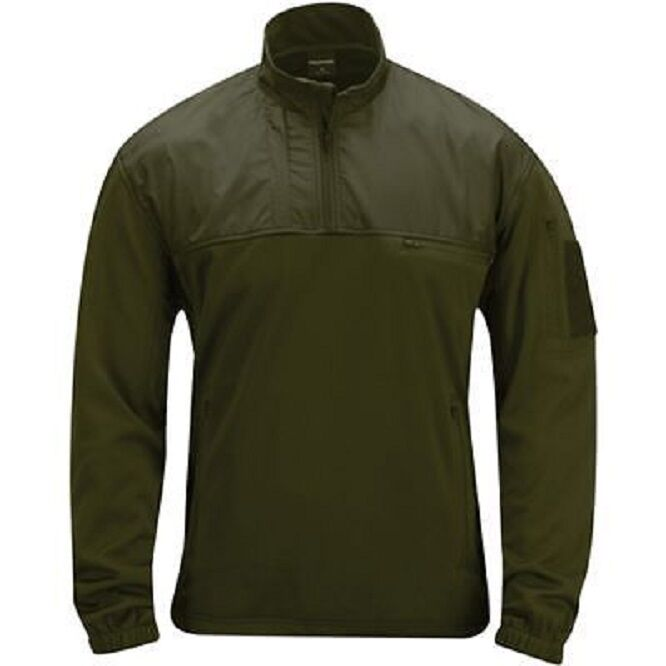 US PROPPER ls1 practical pullover in pile Tactical Outdoor Army Military verde Oliva