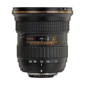 Tokina AT-X 11-20mm f/2.8 PRO DX Lens for Nikon F