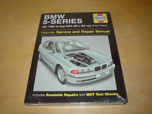 haynes bmw 5 series e39 touring owners handbook workshop service rh m ebay ie Next BMW 5 Series Next Generation BMW 5 Series