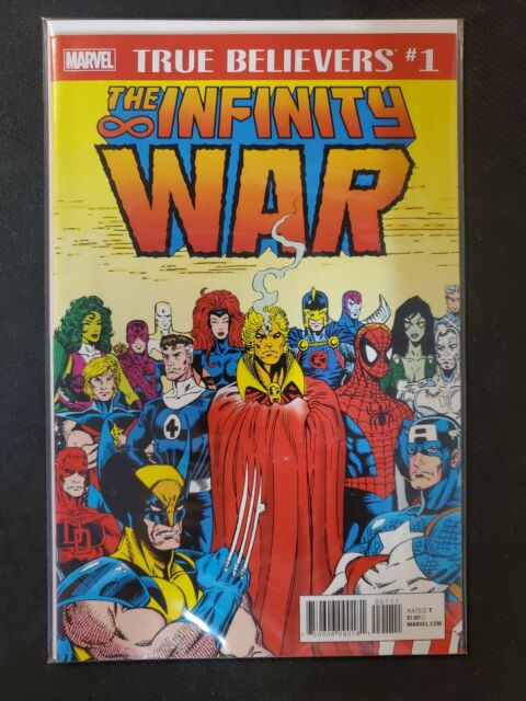True Believers The Infinity War #1 (2018) NM Marvel Comic