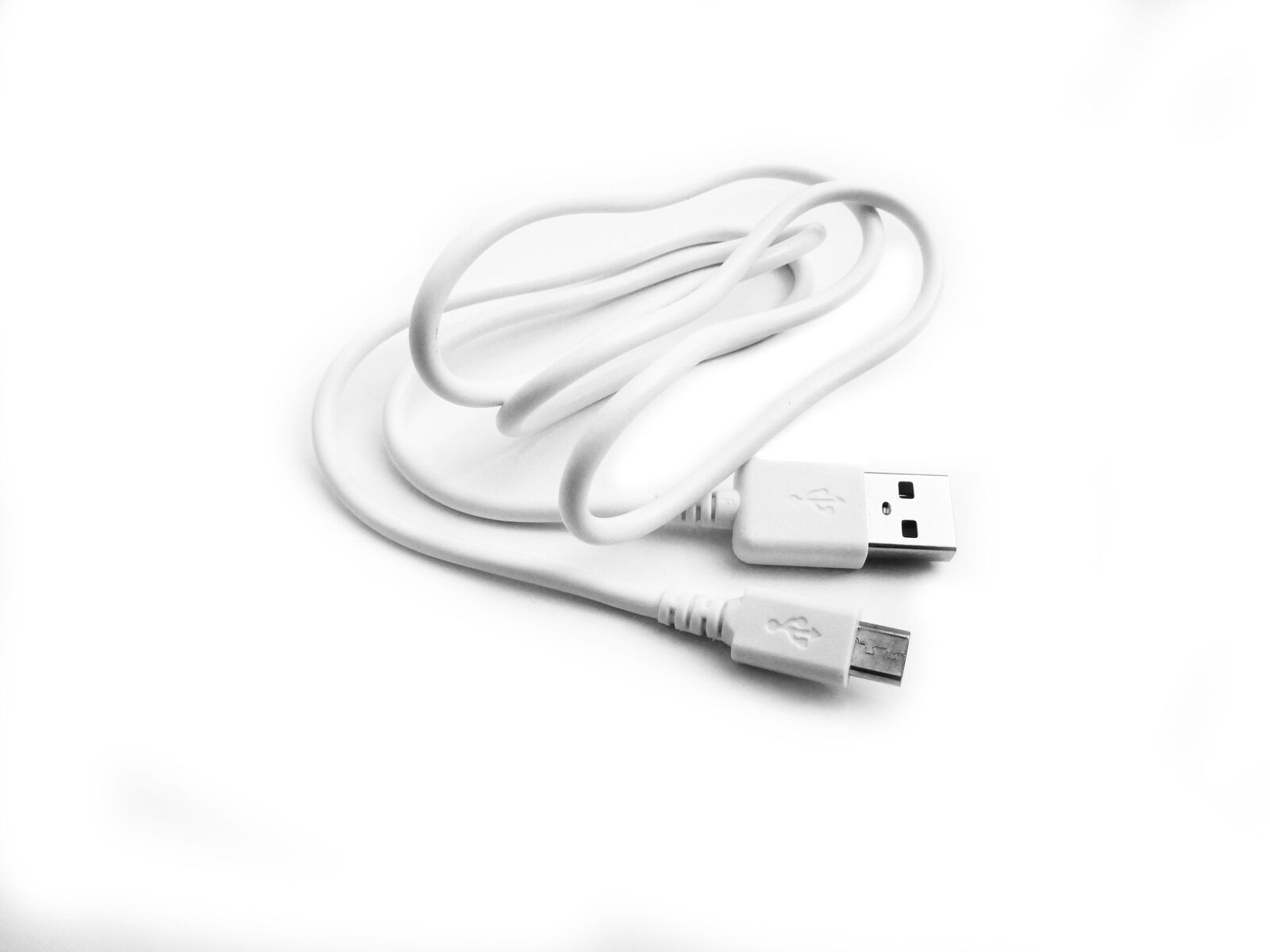90cm USB Black Charger Power Cable for Aennon Rechargeable LED Head Torch