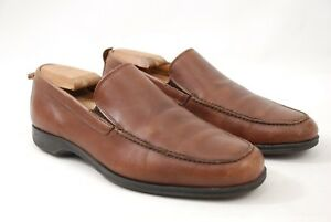 0d4743fa9b0 Coach Corbin Brown Loafers Slip-On Shoes Made in Italy Men s 8D