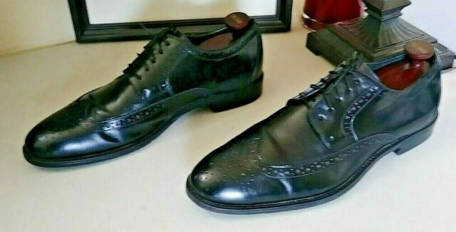 Stacy Adams Mens Shoes Madison Leather Black Multi 00012-009