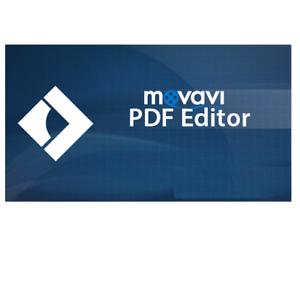 New Movavi PDF Editor Edit PDF