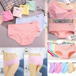 Women-039-s-Cotton-Underwear-Breathable-Stretchy-Briefs-Knickers-Panties-Underpants