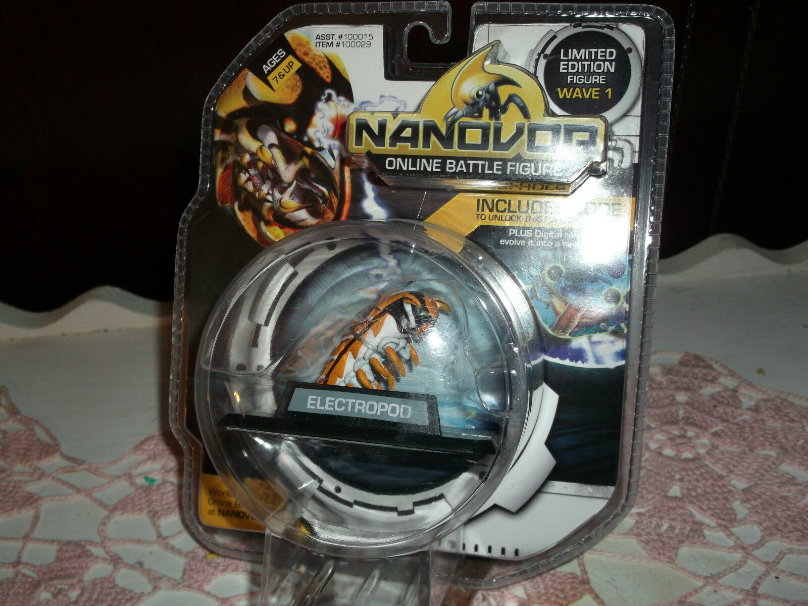 Nanover Online Battle Figure ELECTROPOD Wave 1 Unused & Unopened