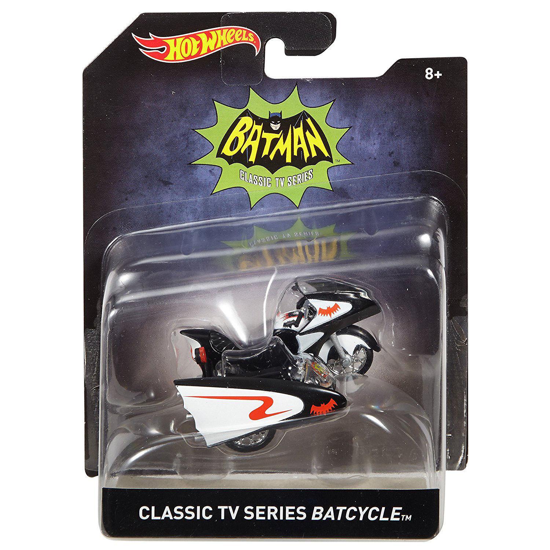 HOTWHEELS BATMAN 1 50 SCALE BATMAN BATCYCLE 2015