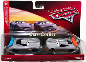 Disney-Pixar-Cars-3-Evolution-Gabriel-amp-Aiden-Next-Generation-Racer-NEU-OVP