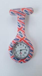 nurse-beauticians-doctor-fob-watch-novelty-union-jack-silicone