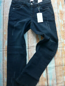 Sheego-Trousers-Jeans-Blue-Size-44-to-58-311-with-Roughened-Oversize