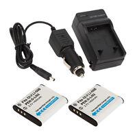 2x Battery + Charger for Olympus Li-50B LI50B Stylus Tough 6020 8000 8010 SZ-10