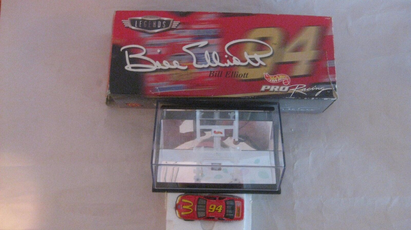 Nascar Bill Elliott Hot Wheels Leggende 164 Scala Diecast da Mattel 1997 dc1162
