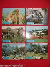 MISSION KILL 1986 ROBERT GINTY  MERETE VAN KAMP  OLIVIA D'ABO EXYU LOBBY CARDS